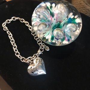 Brighton Puffy Heart Bracelet